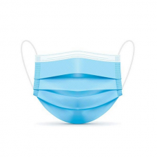 3-Ply Blue Disposable Face Mask (50 Pcs./Box)